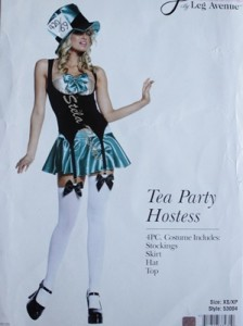 CHAPELEIRA MALUCA TEA PARTY HOSTESS 8685