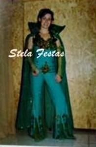 ALUGUEL DE FANTASIA ADULTO FEMININO-8131-HERA VENENOSA-STELA FESTAS