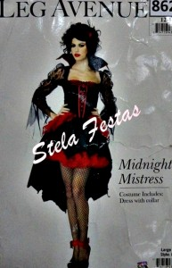 ALUGUEL DE FANTASIA ADULTO FEMININO-8629-VAMPIRA MIDNIGHT MISTRESS-STELA FESTAS