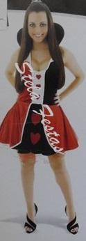 RAINHA DE COPAS VELUDO HEAT GIRL NACIONAL 8540