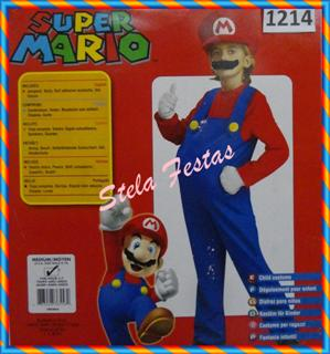 ref-1214-aluguel fantasia infantil masculino-mario-Stela Festas (WinCE)