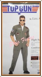 ref-4436-aluguel fantasia adulto masculino-top gun-Stela Festas