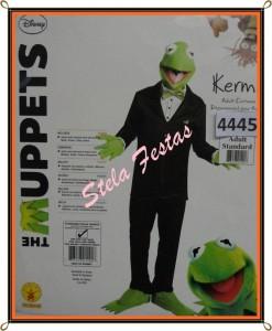 ref-4445-aluguel fantasia adulto masculino-the muppets-Stela Festas