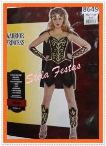 ref-8649-aluguel fantasia adulto feminino-gladiadora-Stela Festas