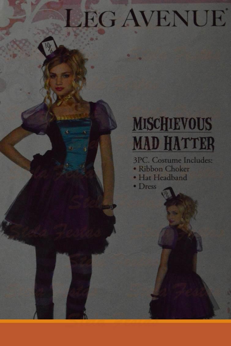 8746 MISCHIEVOUS - MAD HATTER